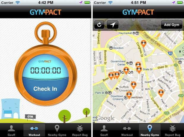 Com o GymPact você ganha dinheiro por ir à academia (Foto: Divulgação)