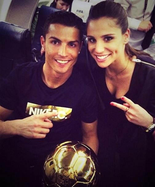 Cristiano Ronaldo já engatou romance com apresentadora Lucía Villalón  f422af45e9839